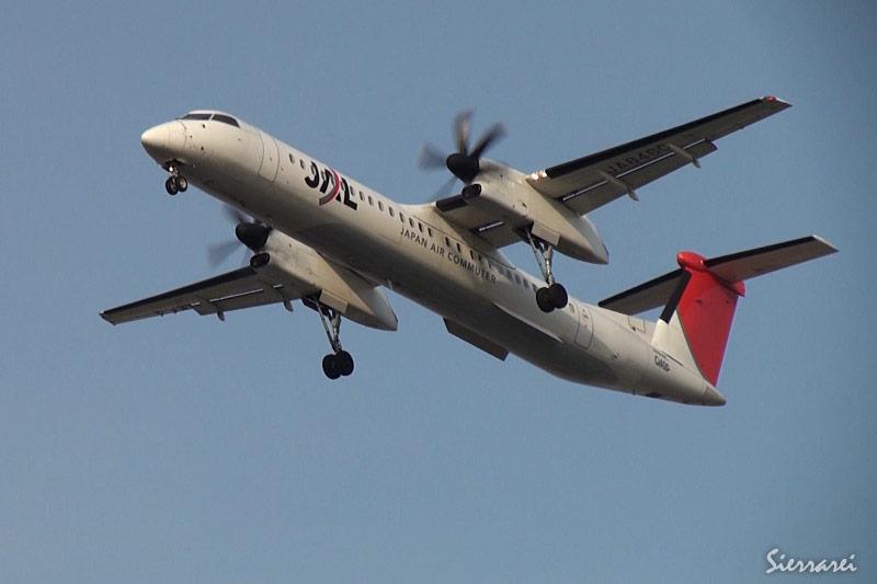 JA846C大阪国際空港(伊丹空港)着陸