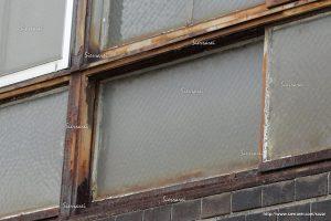 窓枠さび、タイル汚れ