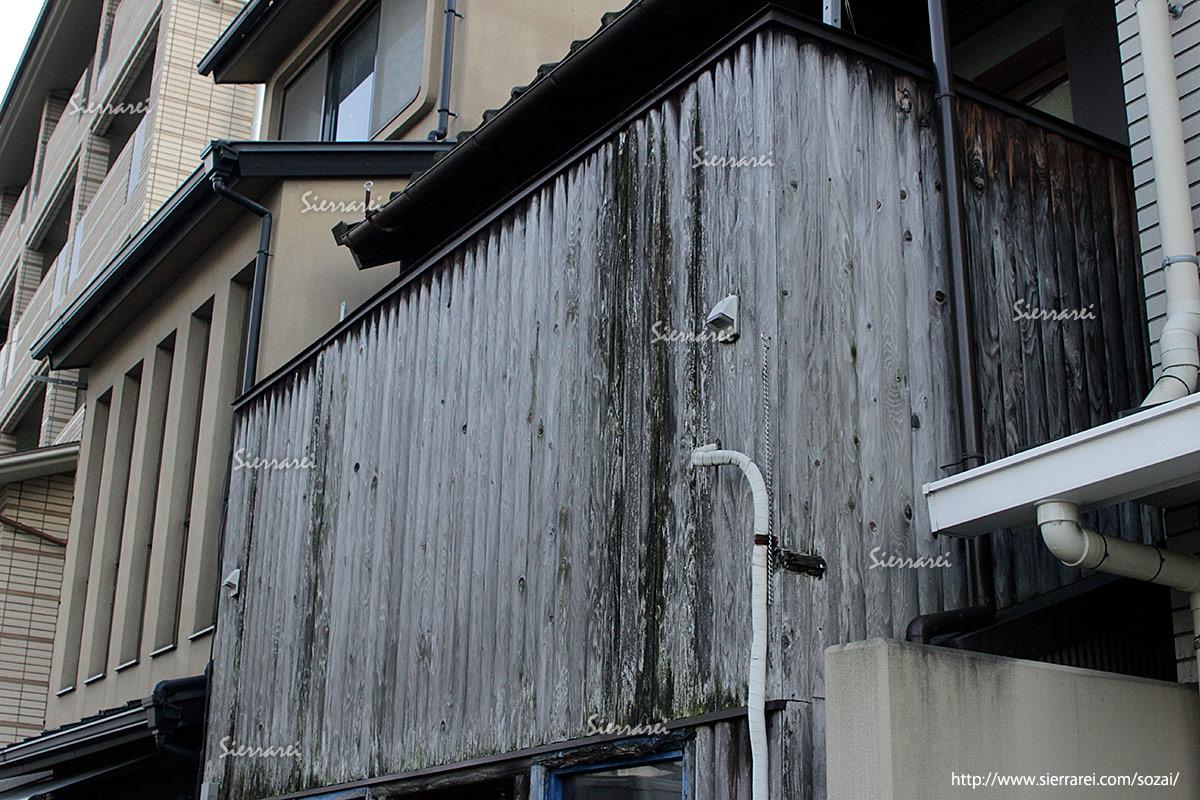 塀、汚れ、雨ジミ、雨汚れ