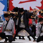 第18回安濃津よさこい-10月10日-お城西公園会場:福井大学よっしゃこい