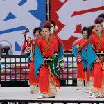 第18回安濃津よさこい-10月10日-お城西公園会場:舞