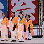 第18回安濃津よさこい-10月10日-お城西公園会場:波桜