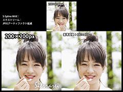 S-Spline MAX:エクストリーム:JPEGアーティファクト低減