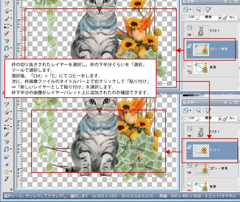 Paint Shop Pro Photo(ペイントショッププロ)-Paint Shop Pro Photo(ペイントショッププロ)-画像の合成10
