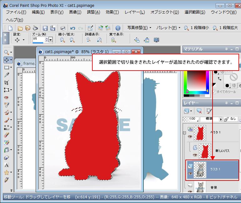 Paint Shop Pro Photo(ペイントショッププロ)-Paint Shop Pro Photo(ペイントショッププロ)-画像の合成4