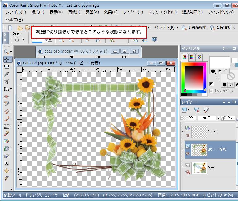 Paint Shop Pro Photo(ペイントショッププロ)-Paint Shop Pro Photo(ペイントショッププロ)-画像の合成7