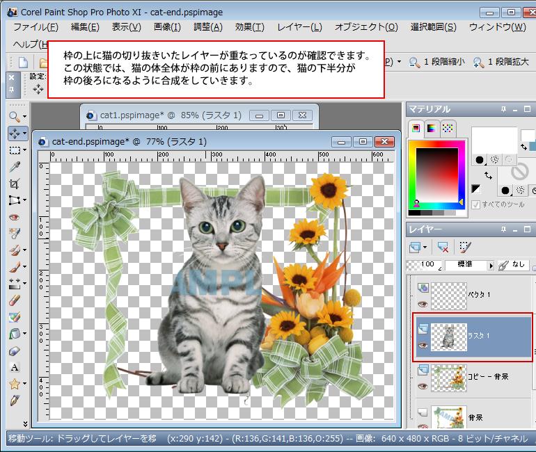 Paint Shop Pro Photo(ペイントショッププロ)-Paint Shop Pro Photo(ペイントショッププロ)-画像の合成9