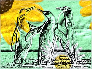 Paint Shop Pro Photo(ペイントショッププロ)-「効果」→「テクスチャ効果」→「彫刻」