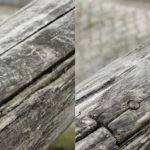 「スクラッチ除去」ツールにより画像内のスクラッチや傷を除去する方法