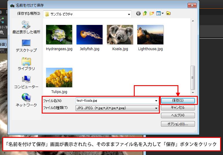 Paint Shop Pro Photo(ペイントショッププロ)-JPG保存をする際のファイルサイズについて2