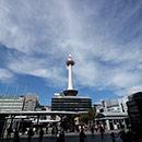 京都 駅ビル 中央改札口を出て北側へ