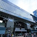 京都 駅ビル北面