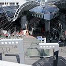 京都 駅ビル 西側 大階段