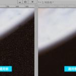 スキャンした写真などのノイズ除去に使える「ダスト&スクラッチ」フィルター