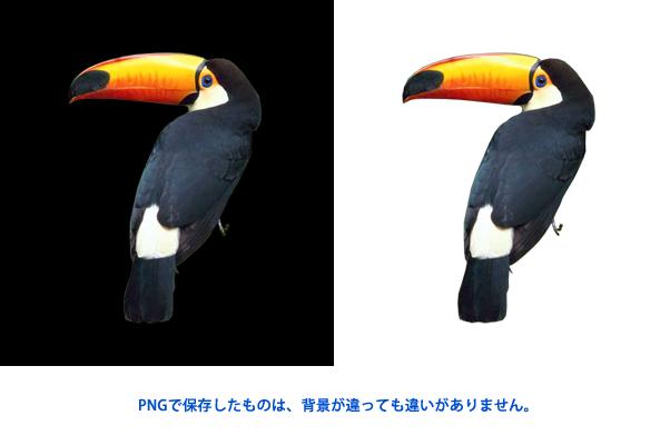 Adobe Photoshop Elements7 操作マニュアル(使い方)-切り抜いて透明がある場合のPNGについて