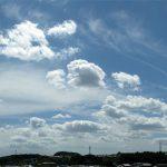 大阪北部-めちゃ気持ちいい感じの空