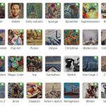 fotor無料オンラインサービス Go Artの使い方。35種類(有料版含む)ものアートフィルターで面白い作品づくりができる。