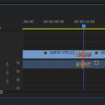 Adobe Premiere操作方法覚え書き:時間のトリミング(カット)とトランジションの設定