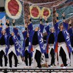 第18回安濃津よさこい-10月10日-お城西公園会場:岐阜聖徳学園大学  柳