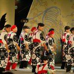 第56回よさこい祭り-桜(高知中央高等学校)-8月12日-後夜祭(中央公園)