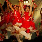 第56回よさこい祭り-サニーグループよさこい踊り子隊-8月12日-後夜祭(中央公園)