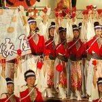 第56回よさこい祭り-俵屋グループ-8月12日-後夜祭(中央公園)