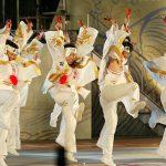 第56回よさこい祭り-安芸 東陣-8月12日-後夜祭(中央公園)